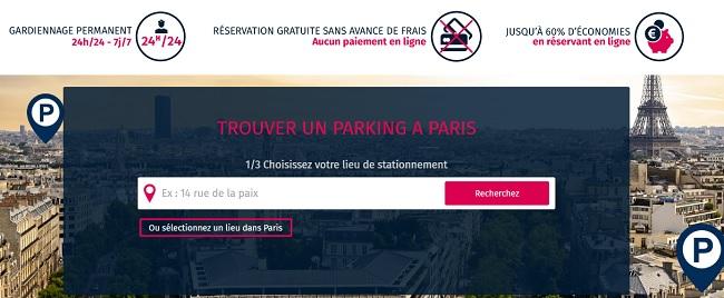 trouver un parking à Paris