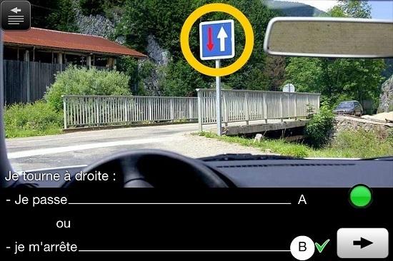 test code de la route