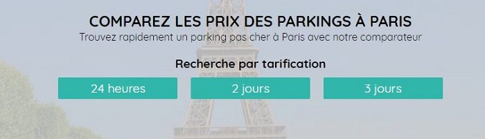 parking public paris
