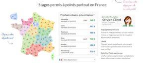 stage de récupération de points Nantes
